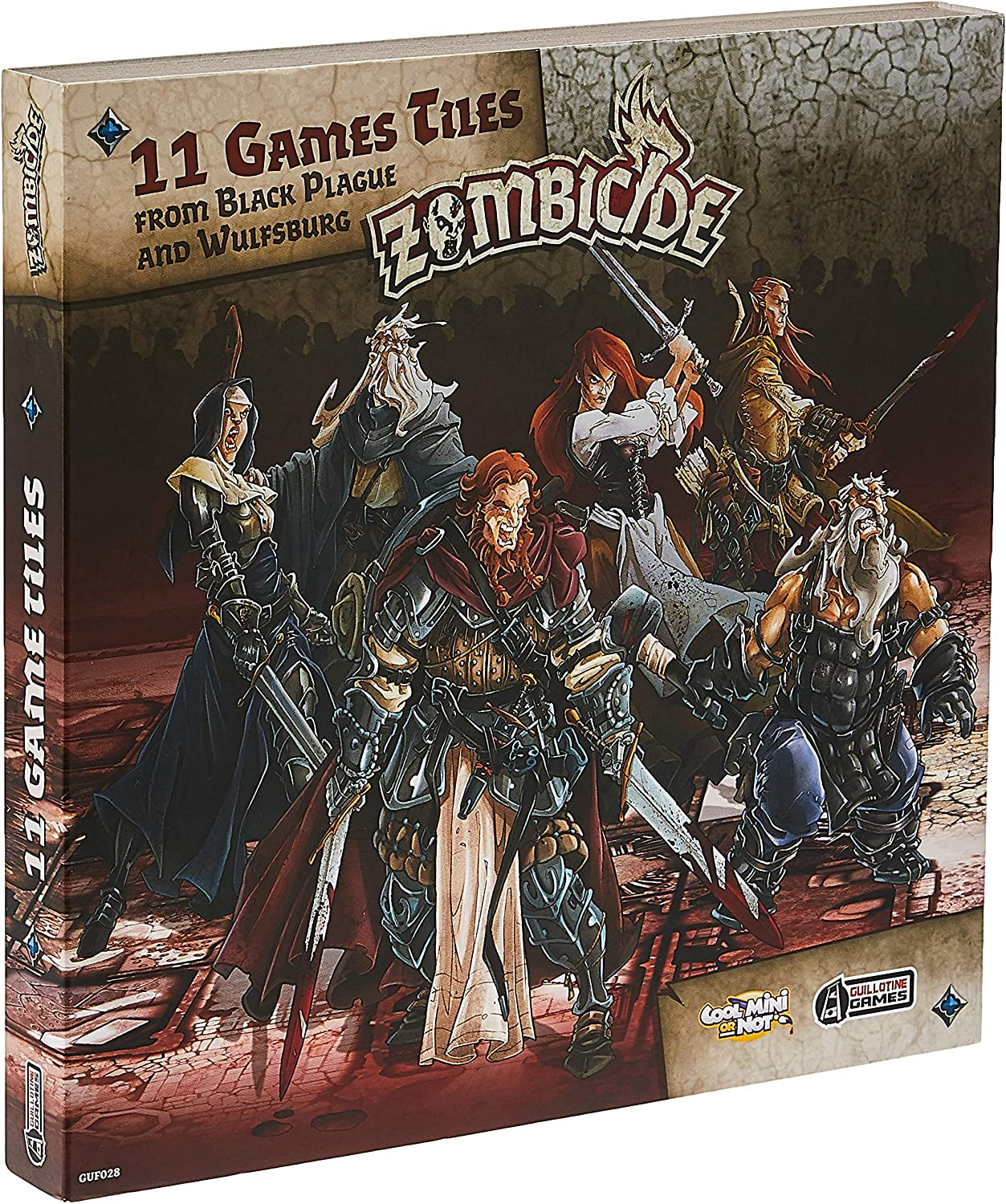 Zombicide: Black Plague - Extra Tiles Pack (Edge Entertainment EDGBP028): Amazon.es: Juguetes y juegos