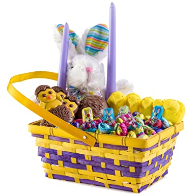 Benevelo gifts happy easter usa treats hamper incl plush bunnies benevelo gifts happy easter usa treats hamper incl plush bunnies marshmallows peeps sweets negle Choice Image
