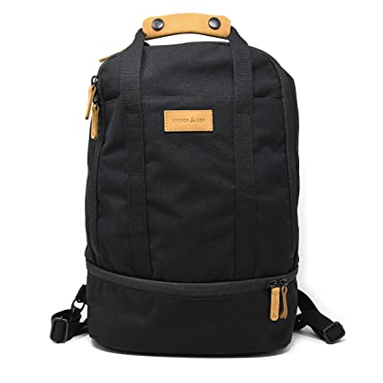 Amber   Ash Everyday Strap Backpack – Slim and Durable Laptop Bag for School 815cd8714232d