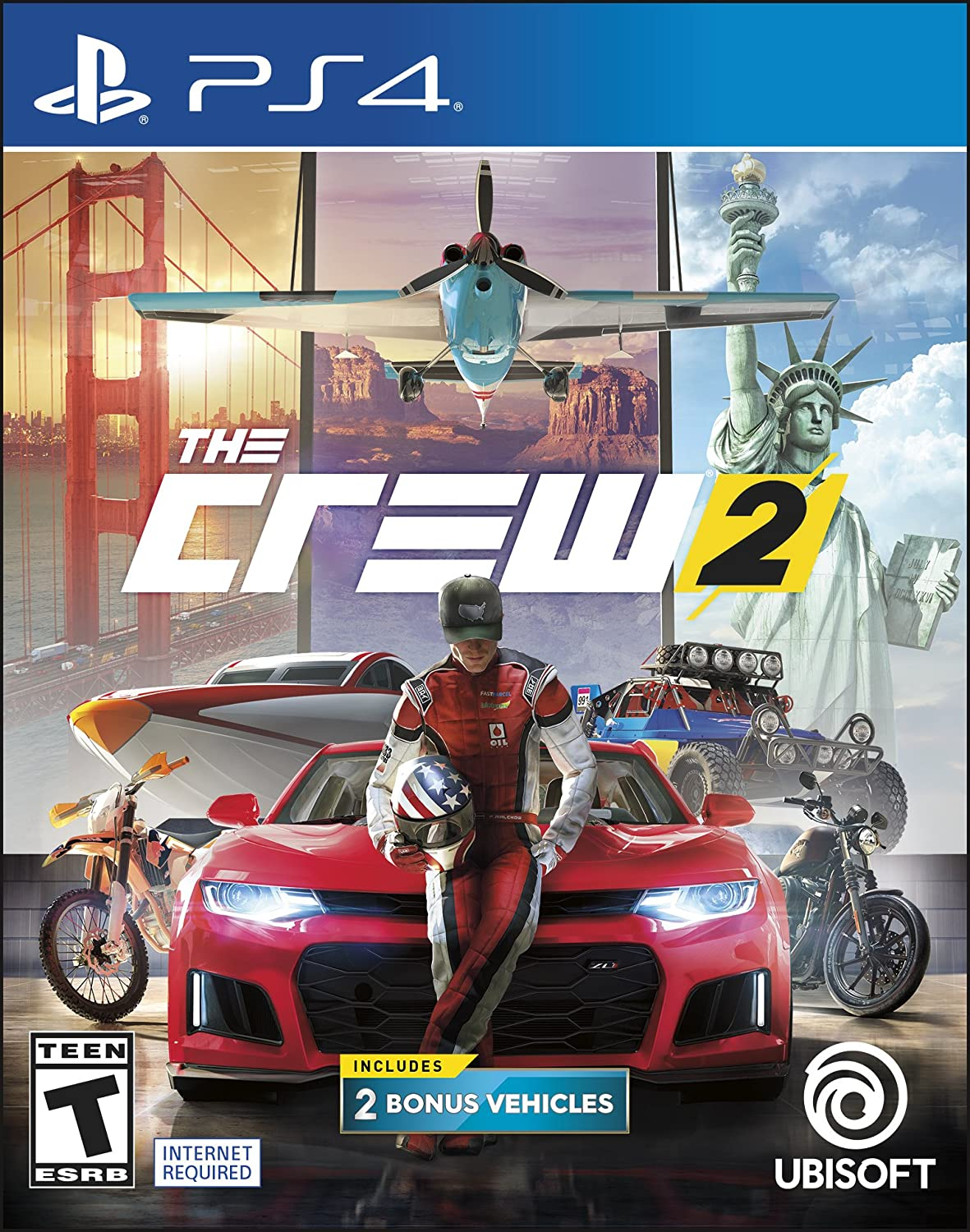 The Crew 2 - Day One Edition for PlayStation 4 [USA]: Amazon.es: Ubisoft: Cine y Series TV