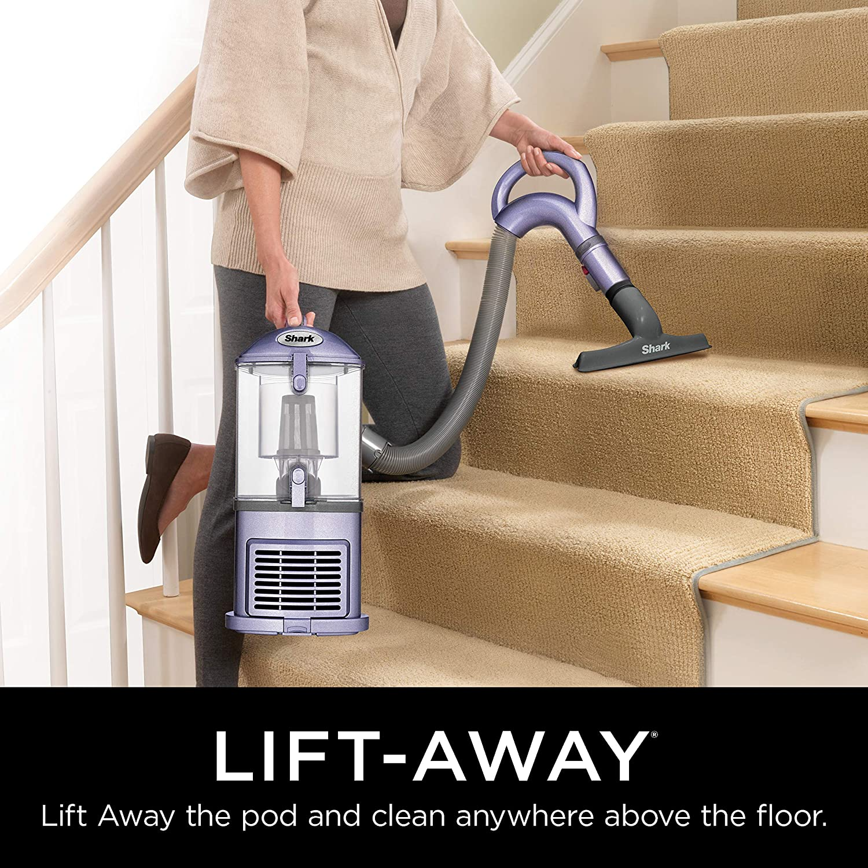 Shark Navigator Upright Vacuum for Carpet and Hard Floor with LiftAway Handheld HEPA Filter and