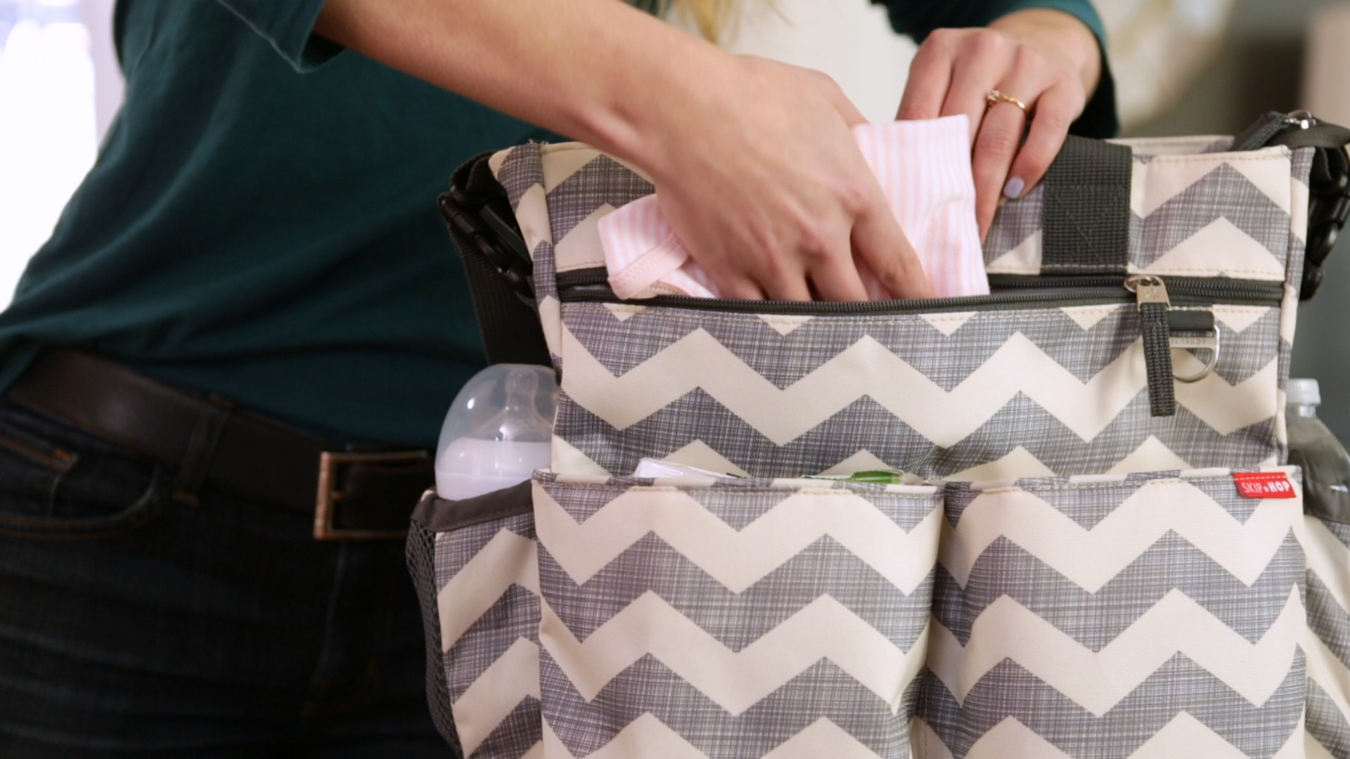 3a6addc4328 How To  pack the perfect diaper bag