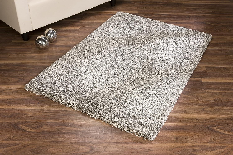 Ragolle Twilight Shaggy Teppich aus Belgien (9999 silber, silber, silber, (13) 120 cm rund) B01347R07G Teppiche 839eb2