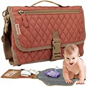 Cute Kid Portable Changing Pad | Diaper Clutch | Travel Changing Station | Waterproof Baby Changing Mat | Cushioned Diaper Changing kit to Keep Your Infant Far from Injury and Dirty Surfaces (Unique)