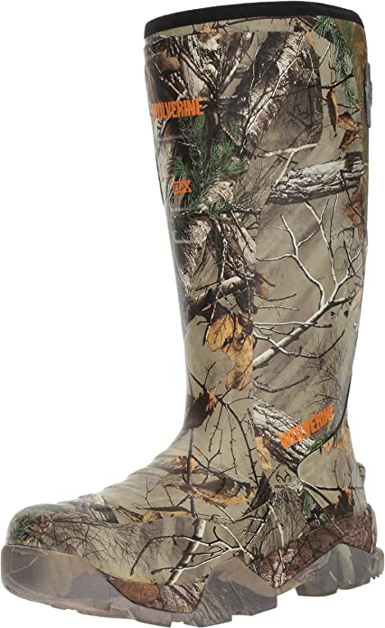 Wolverine Men's Blaze Insulated Waterproof Pull-on Hunting Shoes