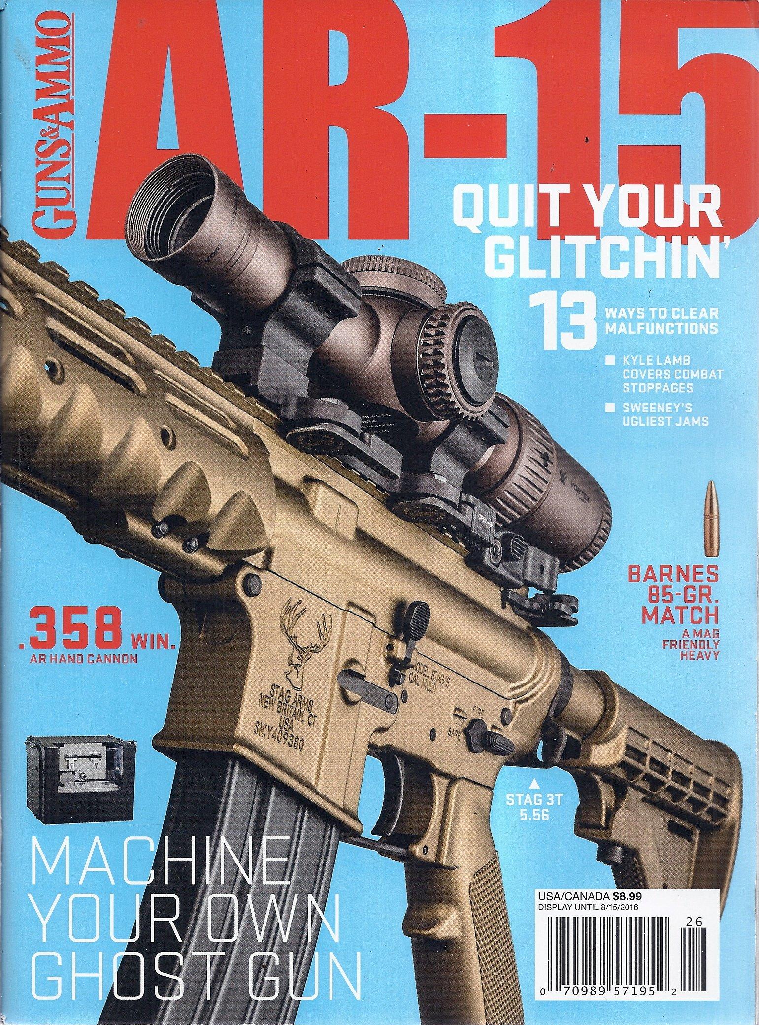 Download Guns & Ammo AR-15 Magazine (Stag 3T 5.56) pdf