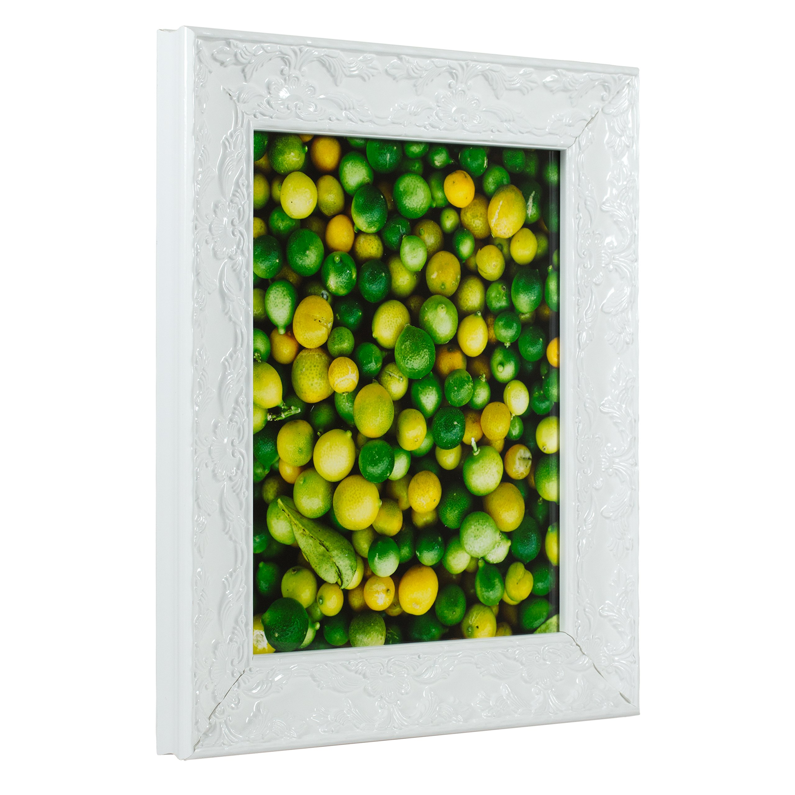 Craig Frames Renaissance, Pearl White Picture Frame, 24 by 30-Inch
