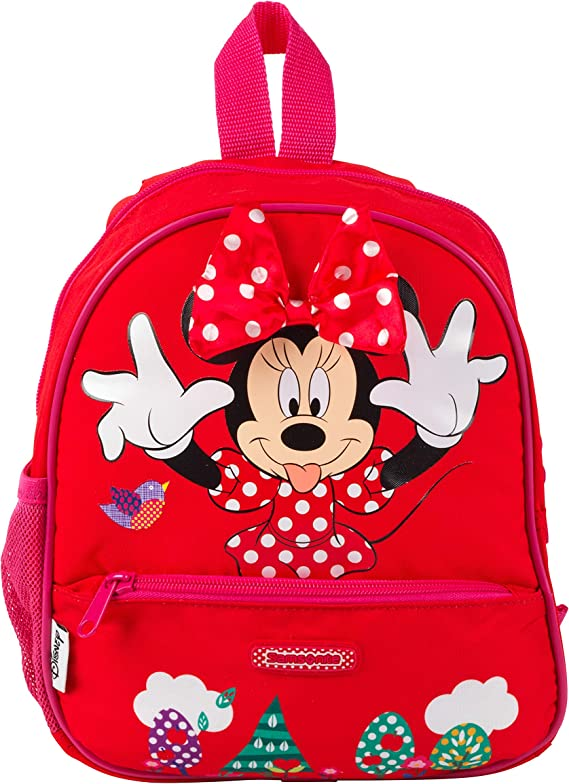 Multi-Colour Bags and Cartoons Minnie 2100001231 Backpacks