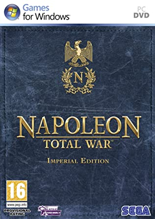 Napoleon: Total War - Imperial Edition pc dvd-ის სურათის შედეგი
