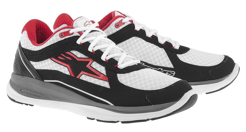 Alpinestars - Zapatillas de running para hombre, color blanco, talla 44: Amazon.es: Coche y moto