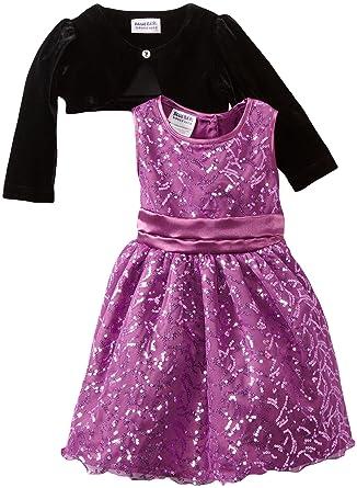 ca8059f3a6fa Amazon.com  Blueberi Boulevard Baby Girls  Special Occasion Sequin ...
