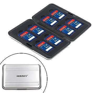 Amazon.com: Honsky Paquete de 2 estuches contenedores de ...