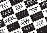 30 Elegant Black and White Motivational Quote