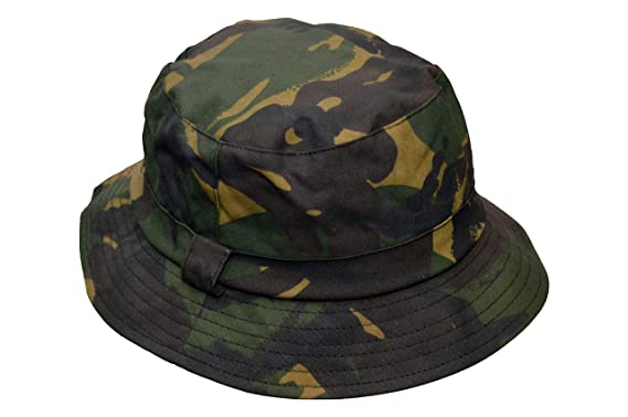 1e4325a583f Walker   Hawkes - Uni-Sex Wax Bush Bucket Fishing Country Waxed Hat - Camo
