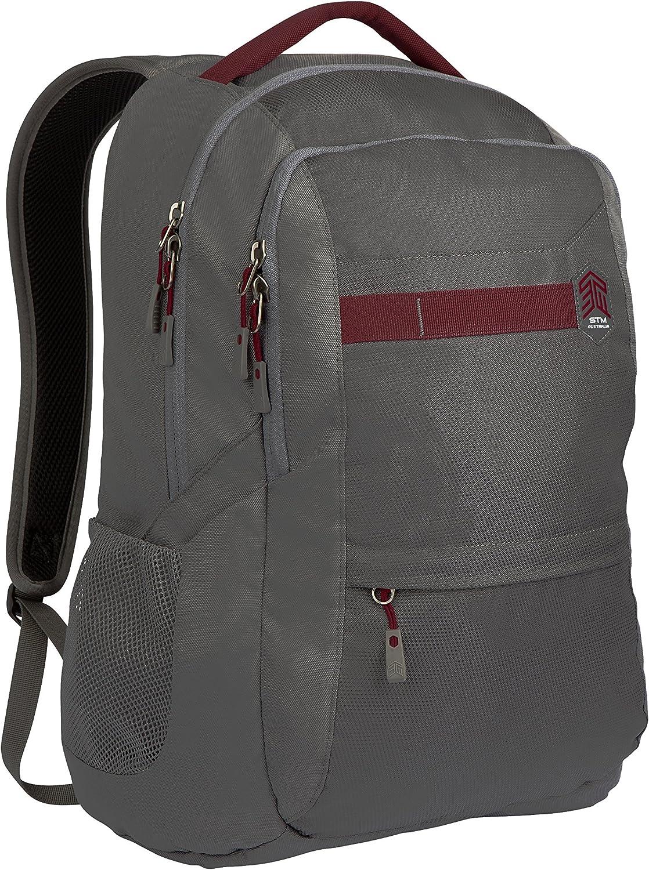 STM Trilogy Backpack for Laptops Up to 15-Inch - Granite Grey (stm-111-171P-16)