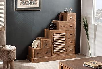 MACABANE Nomades Design 501153 - Mueble Escalera Madera ...