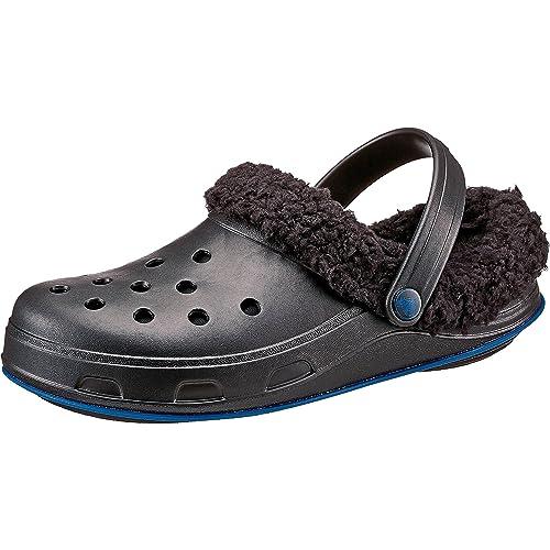 CROCS - Zapatillas de Estar por casa de Goma para Mujer Negro Size: W5: Amazon.es: Zapatos y complementos