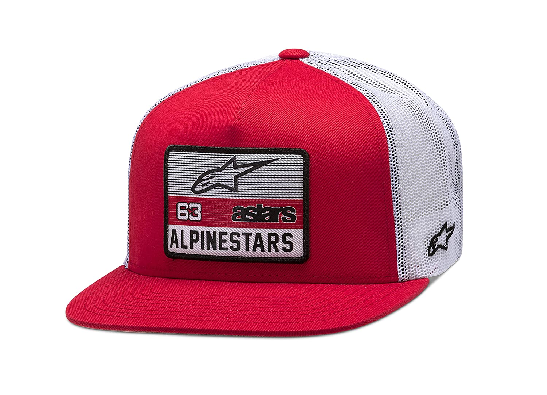 Alpinestars Sponsored Gorra de Beisbol, Rossol/Bianco, OS para ...