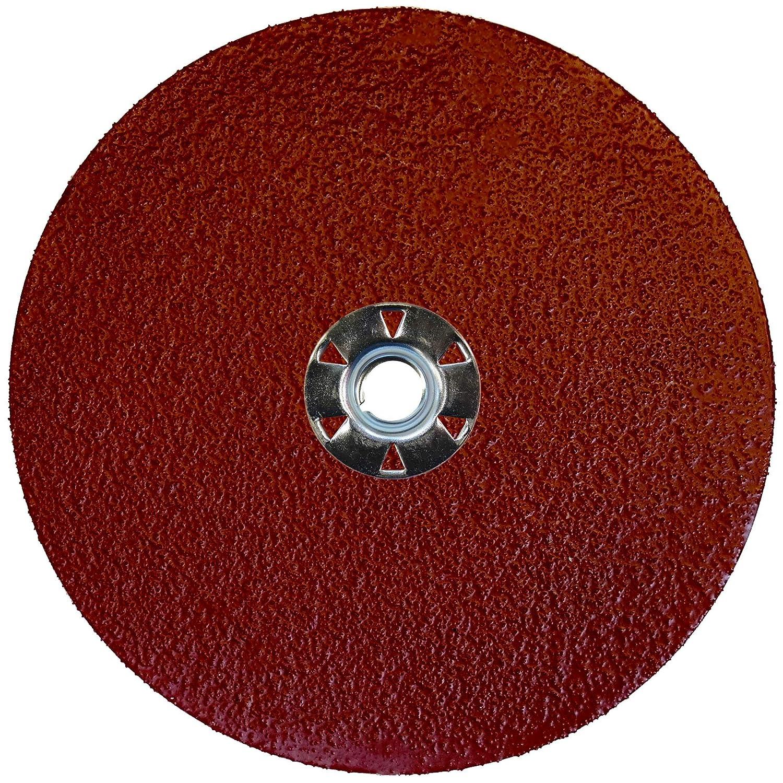 50 Grit Weiler 60622 Tiger Aluminum Resin Fiber Sanding /& Grinding Disc 7 Diameter 7 Diameter 5//8-11 Hub 5//8-11 Hub, Pack of 25