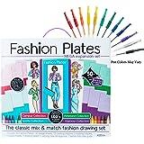 Fashion Plates Mega Design Set with Gel Pens