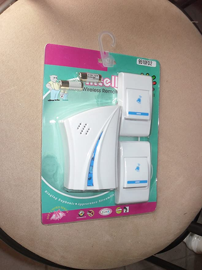 9e33f812513 Amazon.com   Intelligent Wireless Remote Control Doorbell (9510FD2)    Everything Else