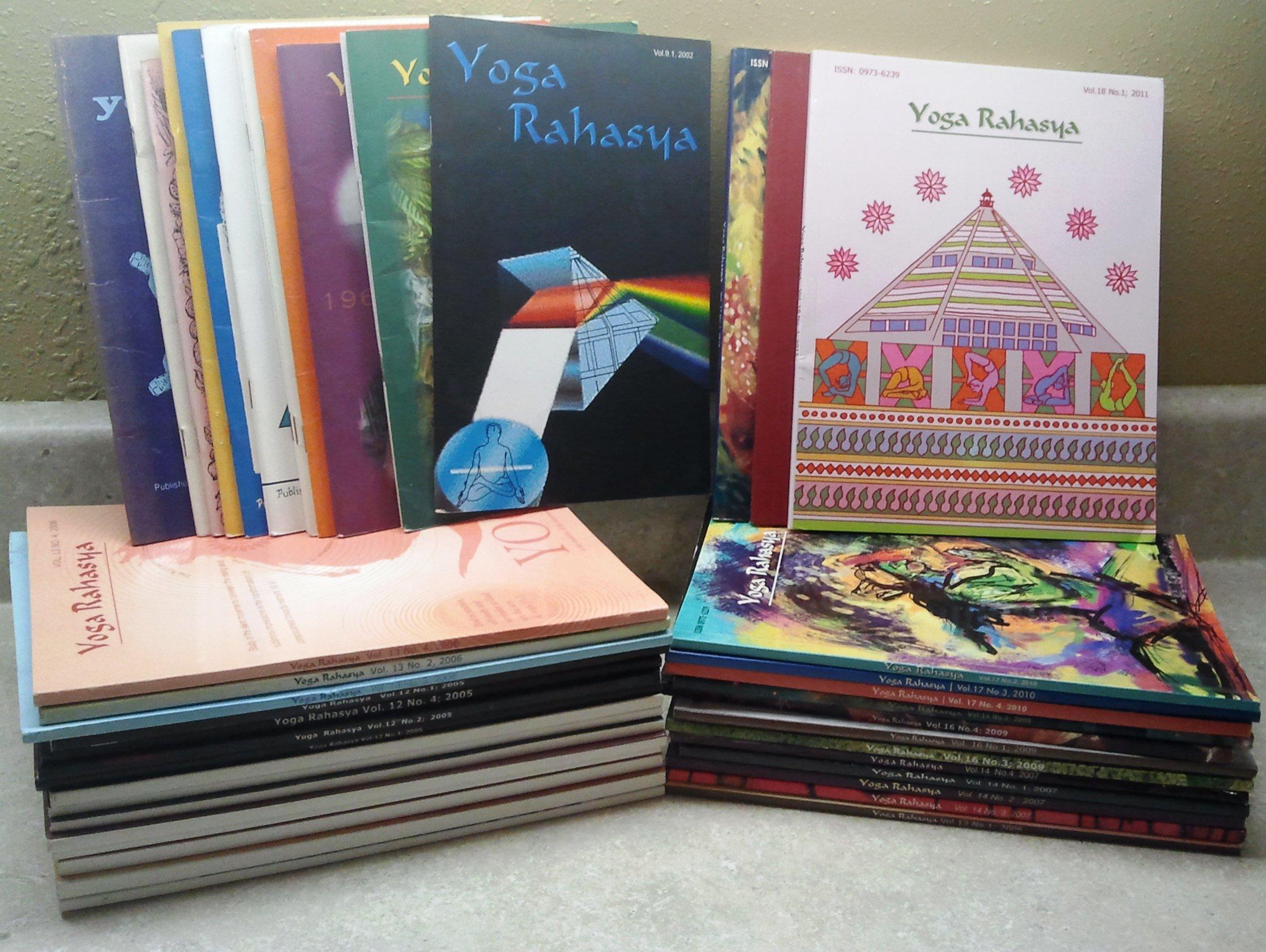 Yoga Rahasya: 43 Volume Set: Rahasya: Amazon.com: Books