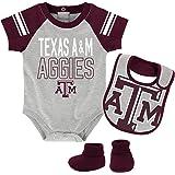 Colosseum Texas A/&M Aggies Infant Dribble Onesie and Bib Set