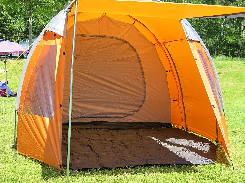 470 x 250 cm Tienda campa/ña familiar 4 plazas Montis HQ Wyoming Ranch 8 kg