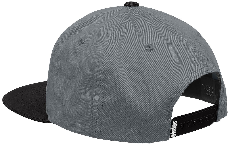etnies - Gorra de béisbol - para Hombre Gris Grey (Grey/Black ...
