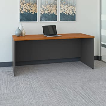 Series C 72W X 30D Office Desk In Natural Cherry