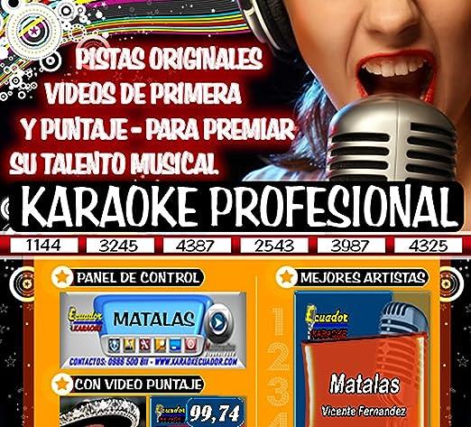 descargar pistas karaoke gratis para cantar