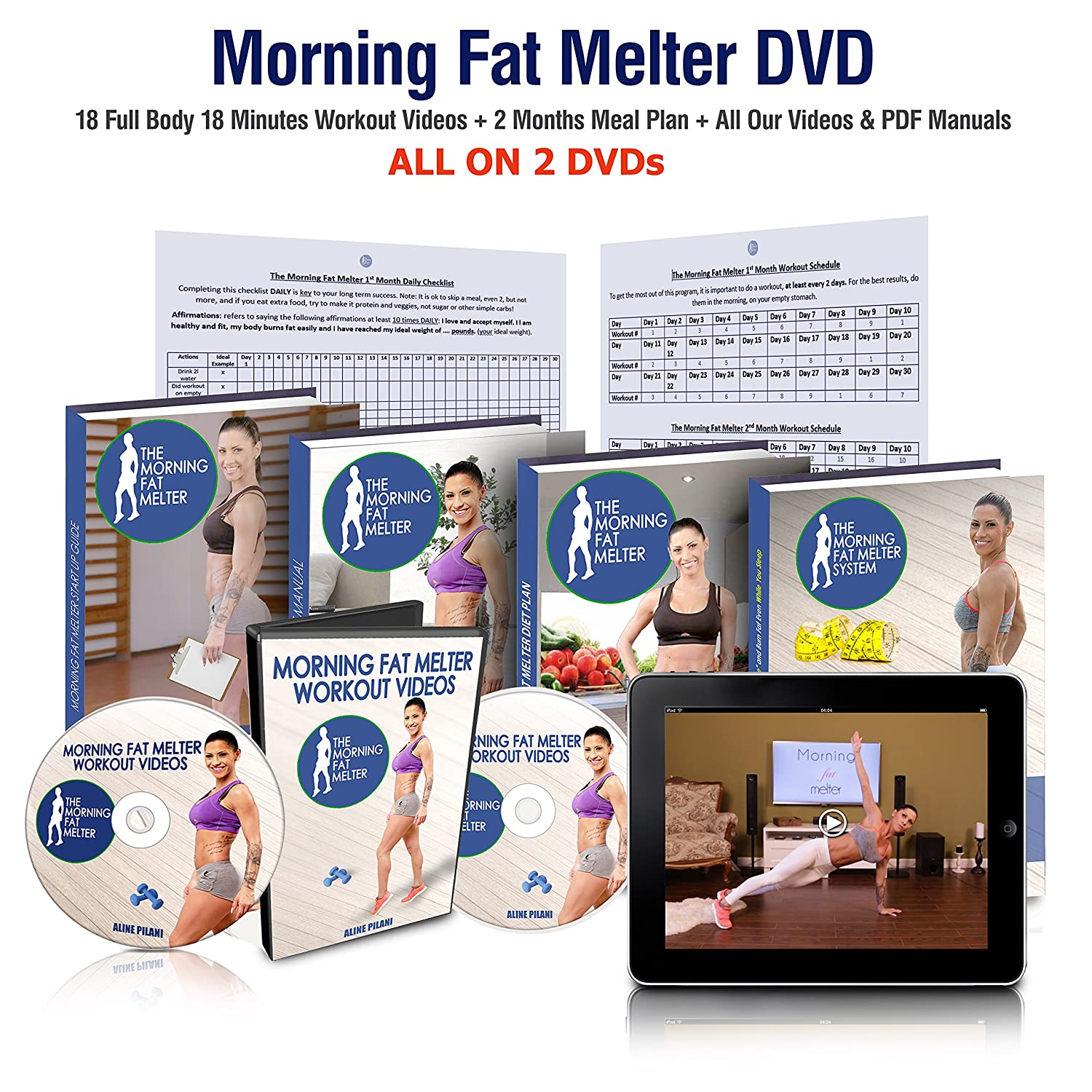 Amazon Com Morning Fat Melter Workout Dvd For Women Over 50 Lose