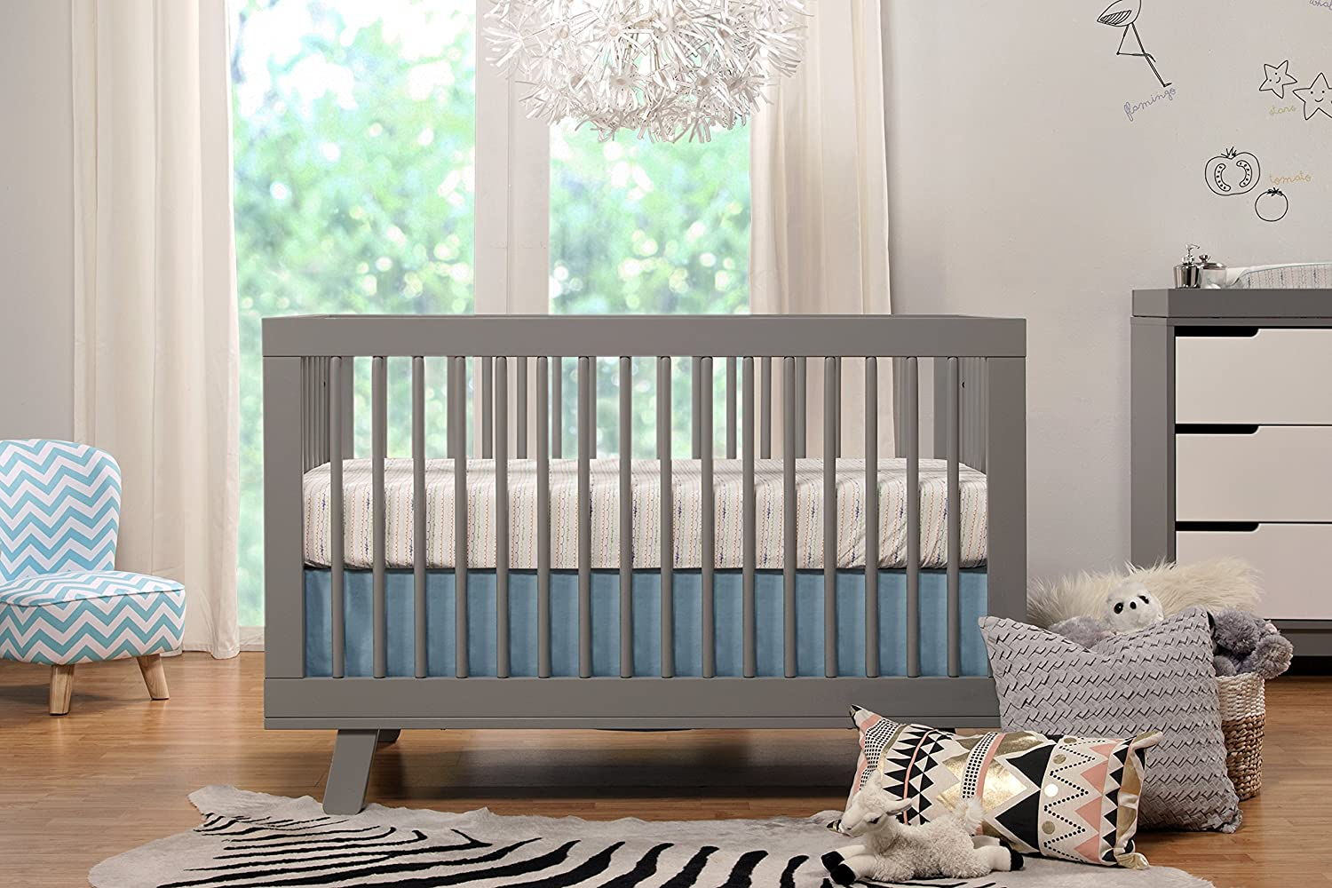 Baby cribs kijiji calgary - Babyletto Hudson 3 In 1 Convertible Crib With Toddler Rail Grey Amazon Ca Baby