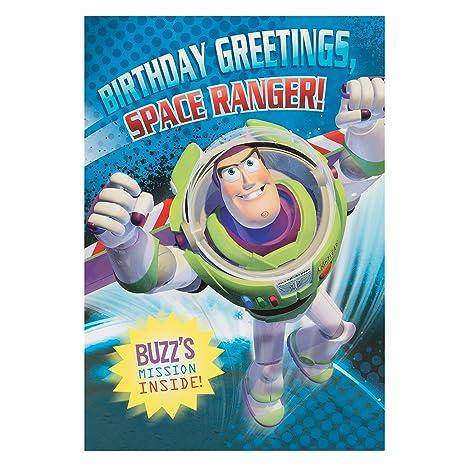 Hallmark Disney Carte Danniversaire Toy Story Buzztoy Story
