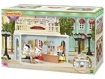 New Sylvanian Families Town Series city of dining table