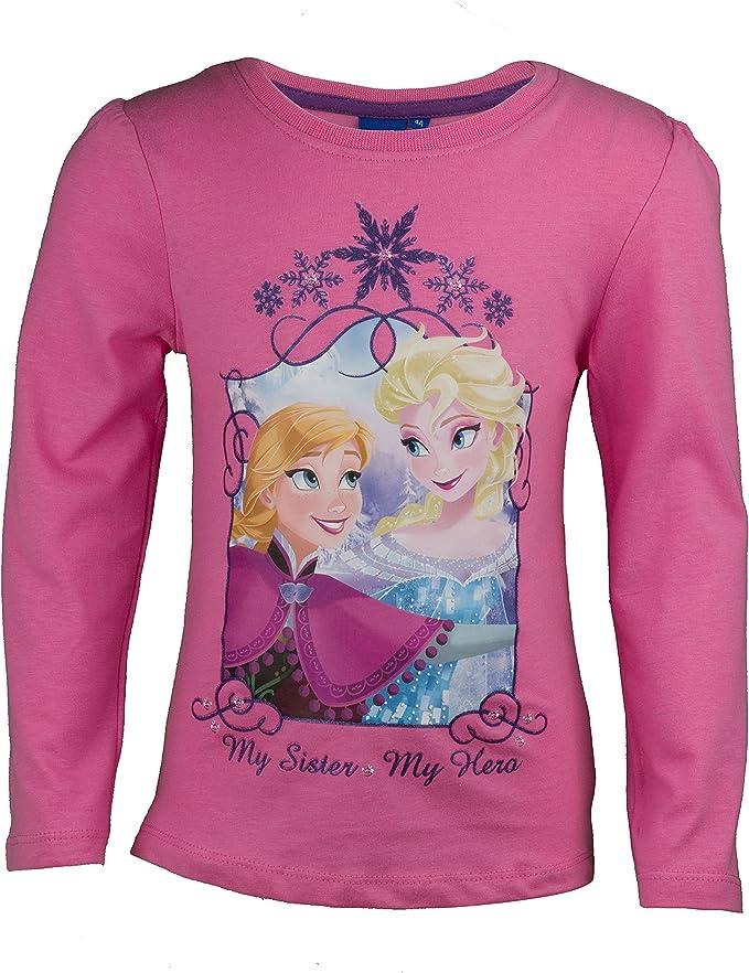 Disney die Eiskönigin Elsa Frozen langarm T-Shirt