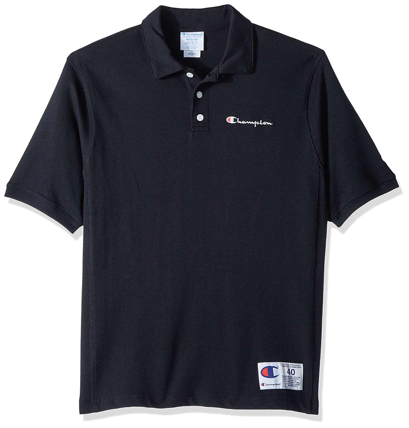 Champion Mens Standard Reverse Weave Heavyweight Polo Champion LIFE T3959