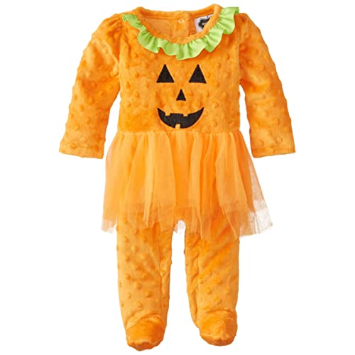 Mud Pie Baby Girls Tutu Pumpkin One Piece