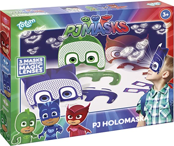 Totum PJ Masks Mascarilla de holograma PJ Masks 320024 ...
