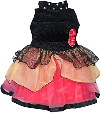 3cc17cd90 MPC Cute Fashion Baby Girls Princess Velvet and Net Party Wear Frock ...