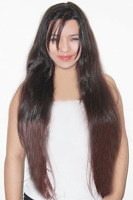 Ritzkart double colour maroon black natural hair extension 25 inch ritzkart double colour maroon black natural hair extension 25 inch pmusecretfo Choice Image