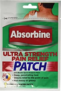 Absorbine Jr. Ultra Strength Pain Relief Patch