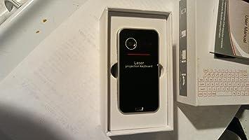 Láser inalámbrico de proyección Bluetooth Virtual Teclado para iphone, ipad