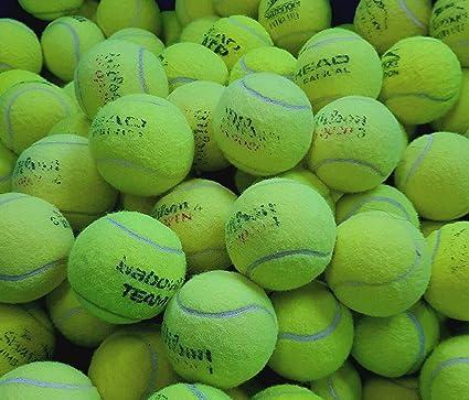 Ace Tennis Balls 30 Pelotas de Tenis usadas - Juegos de Pelota ...