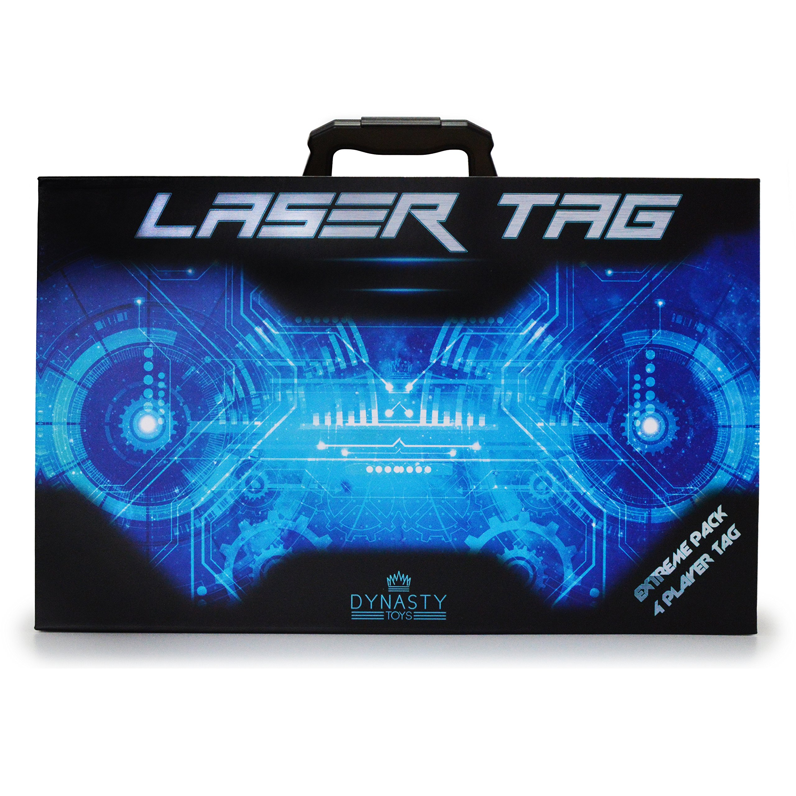 DYNASTY TOYS Laser Tag Set Toys and Carrying Case for Kids Multiplayer 4 Pack by DYNASTY TOYS (Image #5)