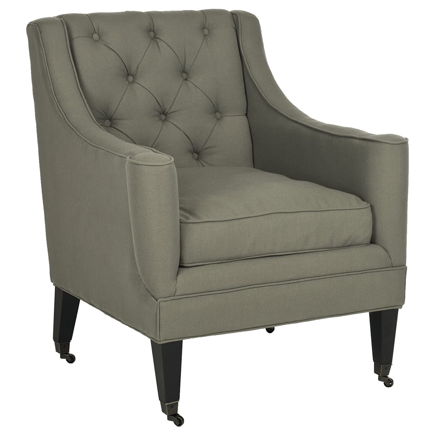 Amazon Safavieh Mercer Collection Sherman Arm Chair Sea Mist