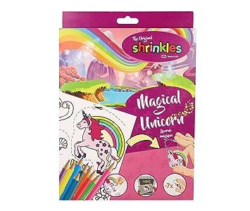 Shrinkles Wz006 Caja Para Manualidades De Unicornio Magico De