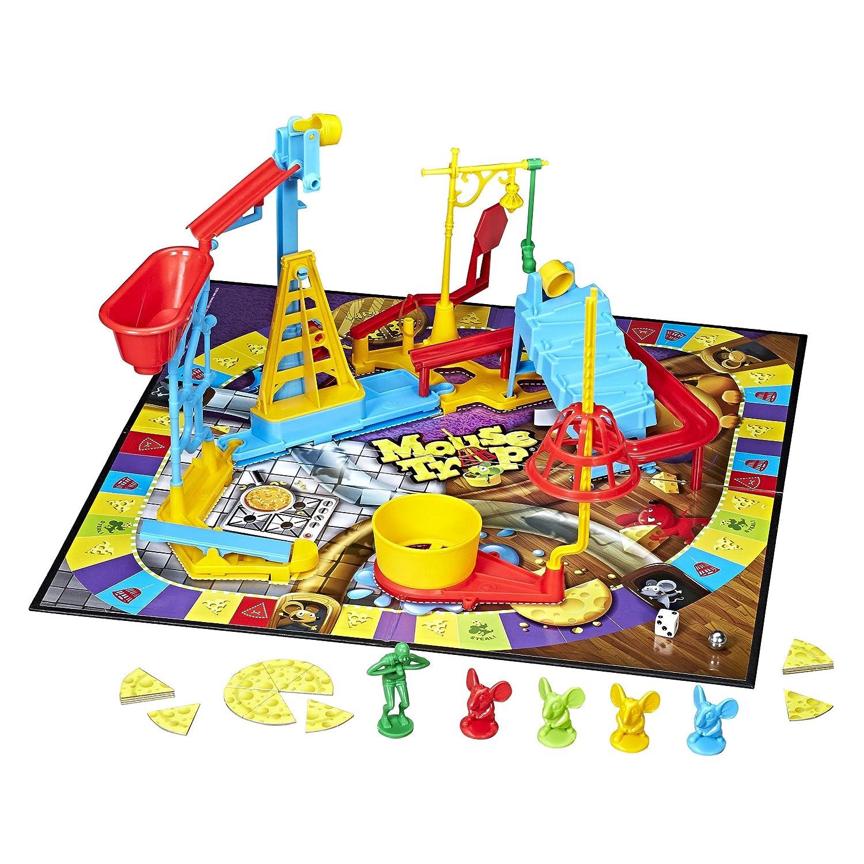 Amazon Hasbro Mouse Trap Game Hasbro Toys Games