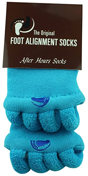 212dfee782dd Original Foot Alignment Socks Blue Happy Feet at Amazon Women s ...