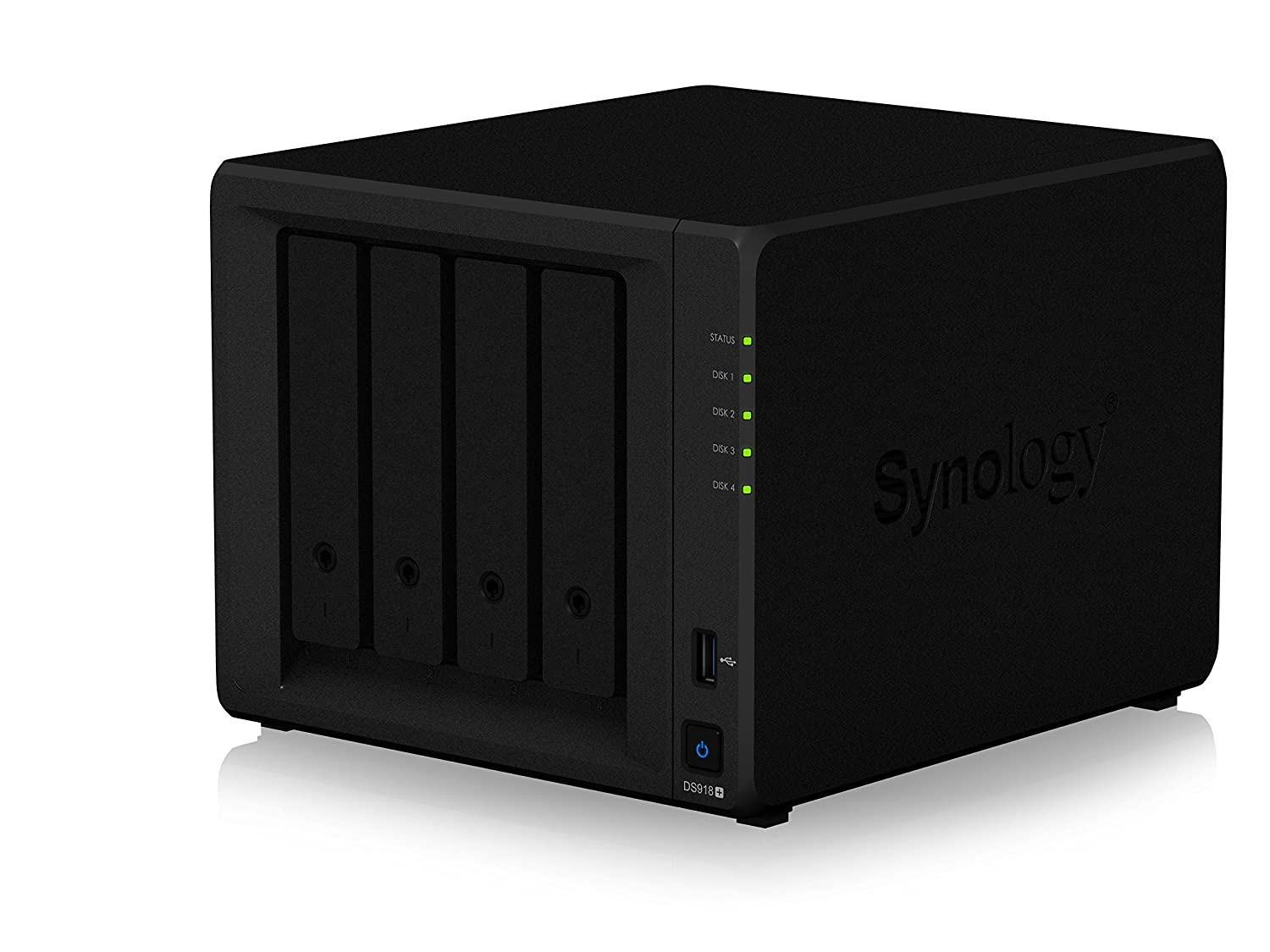 Synology 4 bay NAS DiskStation DS918+ (Diskless) - Review